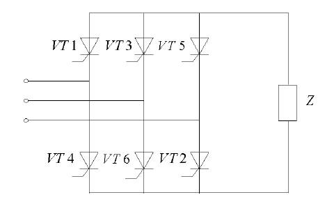 三相桥式全控整流电路