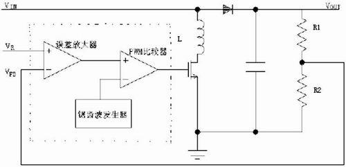 开关电源的高性能电压型pwm比较器