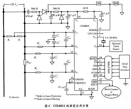 功率表的电路设计