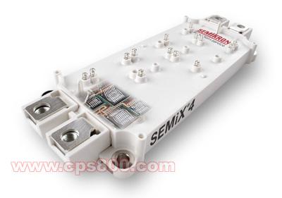 semix可控和不可控整流模块都具有相同的17mm高度