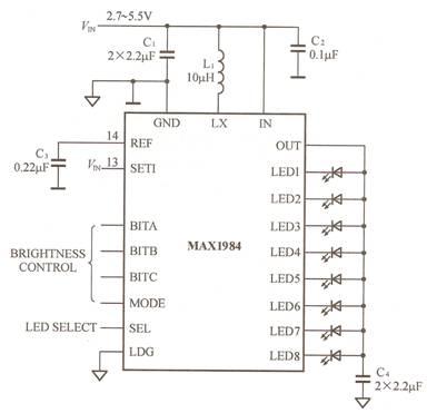 白光led的驱动电路