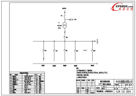 台达ups地铁屏蔽门供电系统应用方案(三)