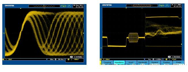 全新gds-3000系列数字示波器