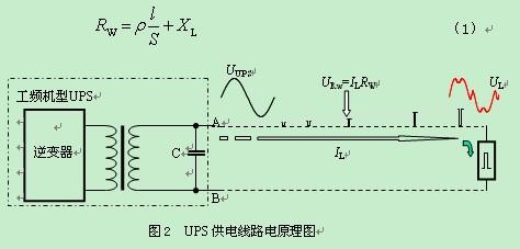 工频机ups输出变压器在电路中是在抗干扰吗?