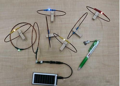 15槽发电线圈接线图