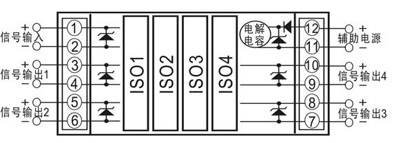 导读:模块内部集成了4个ISO EM系列高隔离的模拟信号隔离放大器IC,采用磁电耦合的低成本方案,主要用于对EMC(电磁干扰)无特殊要求的场合。输入及输出侧宽爬电距离及内部隔离措施使该集成模块的信号输入/信号输出1/信号输出2/信号输出3/信号输出4/辅助电源之间,六隔离。 顺源科技是07年深圳市高新技术企业及2011年国家高新技术企业。公司以客户的成功,我们的价值为经营理念,按照ISO 2008质量技术管理体系的要求,坚持开展改进、改善、创新工作,不断提高产品质量、降低生产成本、拓展产品应用范围、推陈