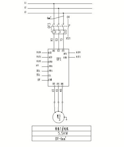 英威腾goodrive200a系列变频器在铅带收卷机上的应用