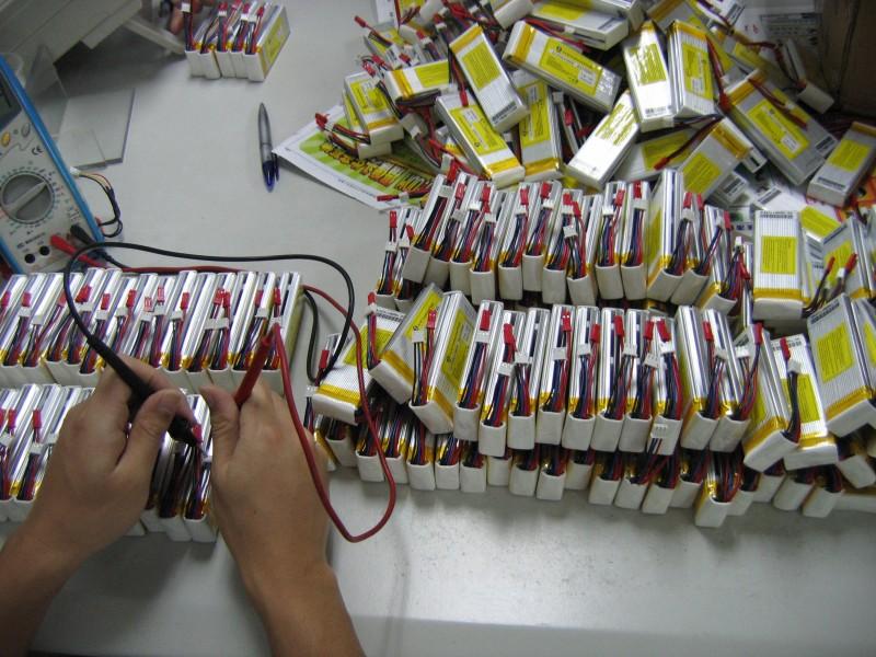 高倍率放电航模聚合物锂电池
